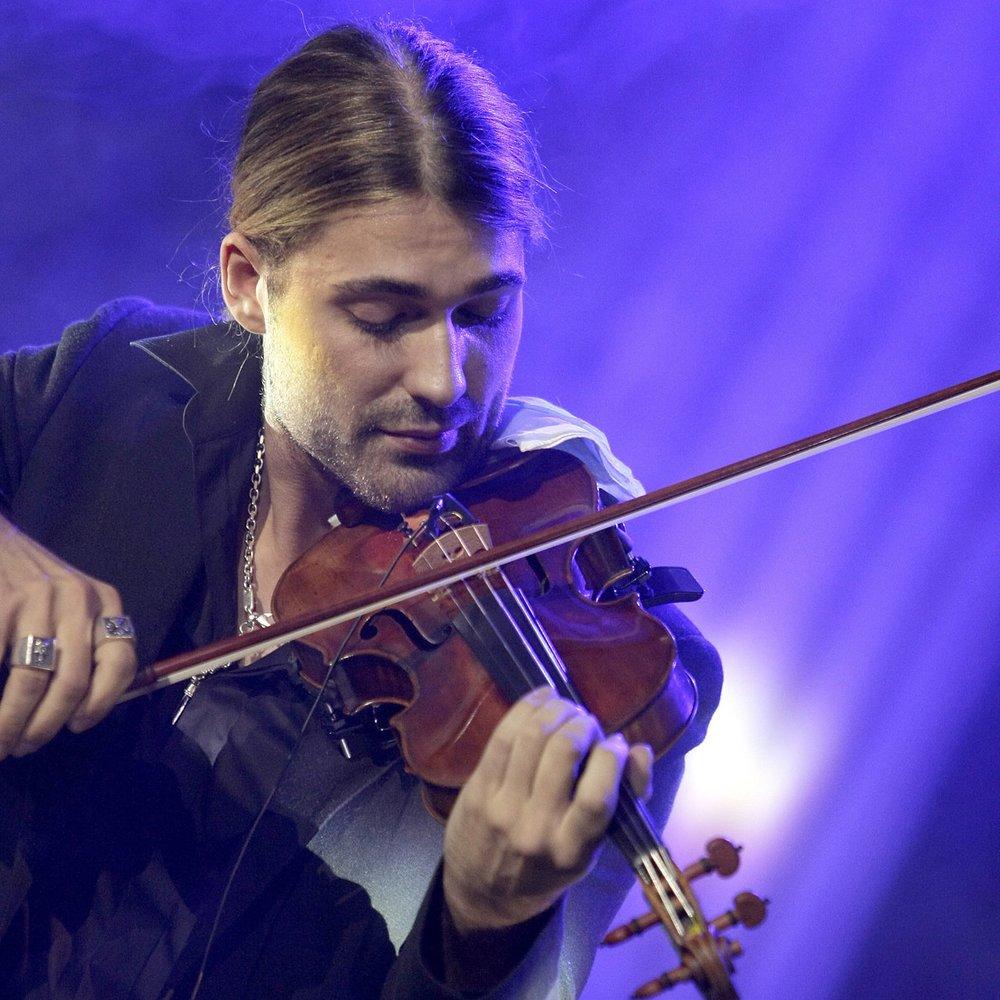 David Garrett wollte als Kind angeblich selbst mit der Geige üben