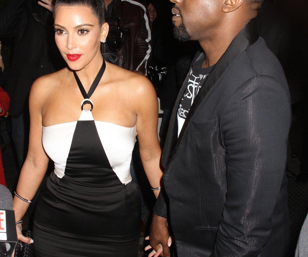 Kanye West drängt Kim Kardashian zum Aufhören