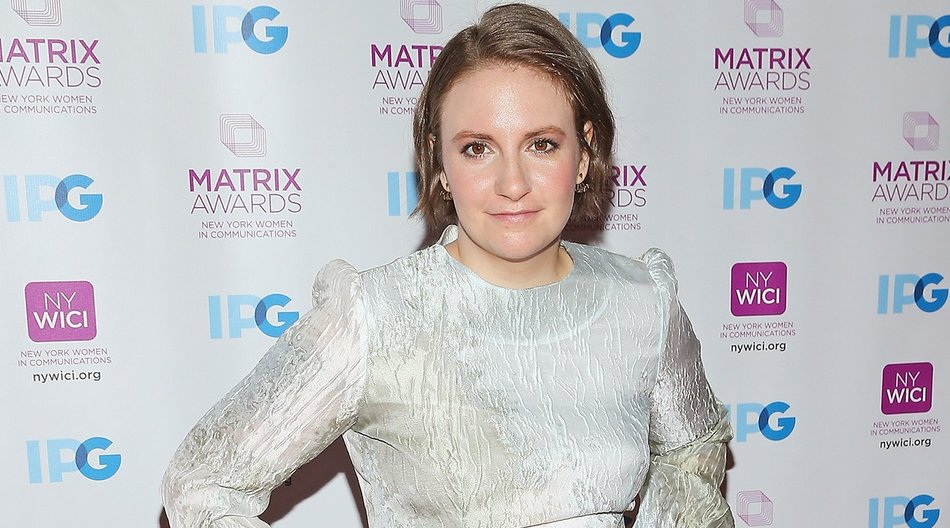 NEW YORK, NY - APRIL 25: Actress Lena Dunham attends the 2016 Matrix Awards at The Waldorf Astoria on April 25, 2016 in New York City. (Photo by Jemal Countess/Getty Images)