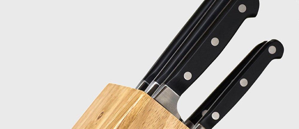 Das perfekte Messerset für Deine Küche