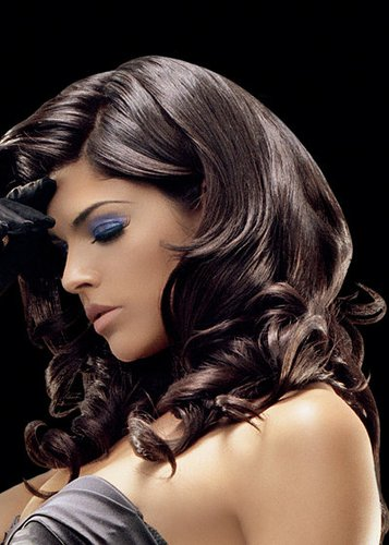 Trendfrisuren bei langen Haaren