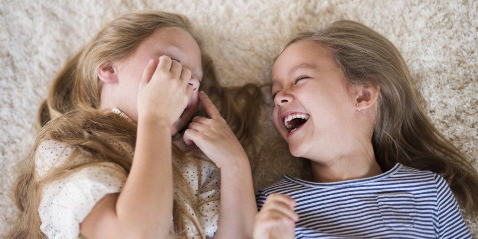 Wer bringt bei Euch alle zum Lachen?