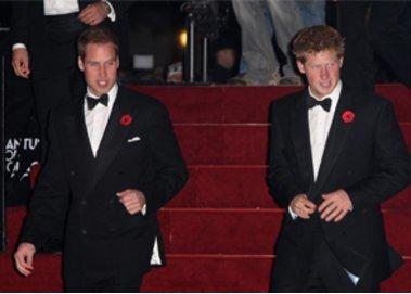 Prinz Harry ist besser gekleidet als Prinz William