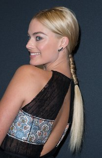 Margot Robbie: Geflochtener Zopf