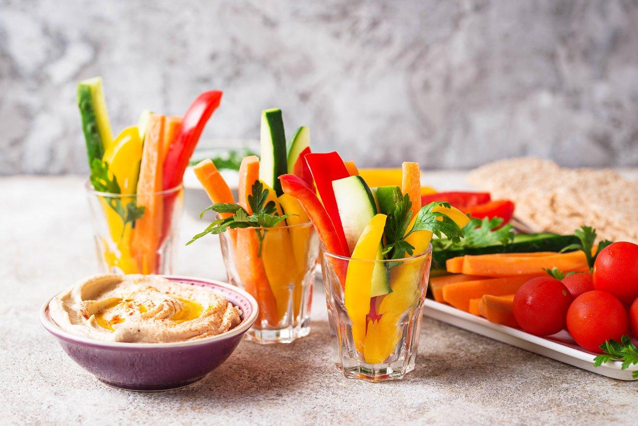 Gemüse Hummus