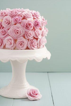 Fondant-Torte selber machen