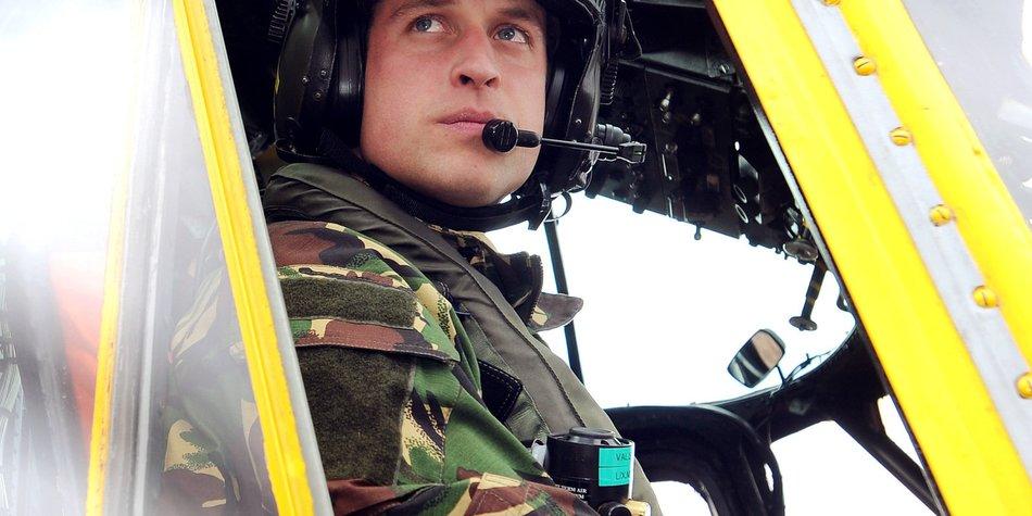 Prinz William rettet die Leben von zwei Menschen