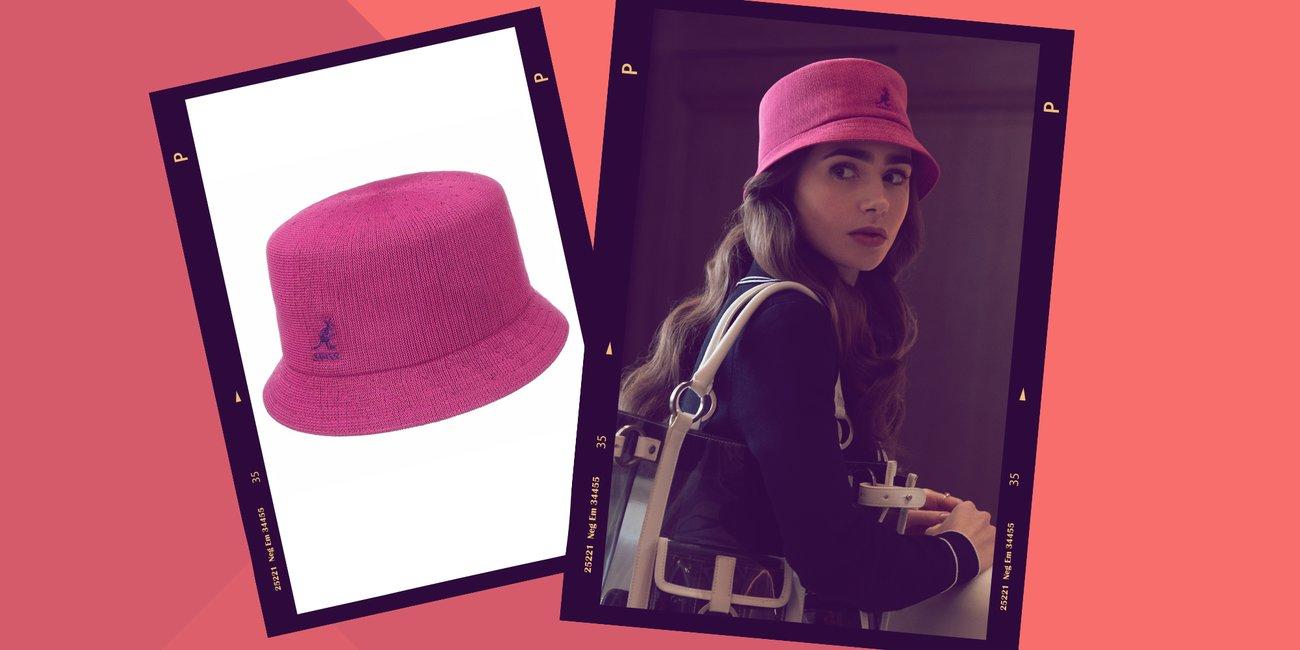 Emily in Paris Kangol Bucket Hat