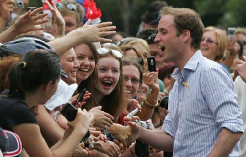 Prinz William ist sehr volksnah