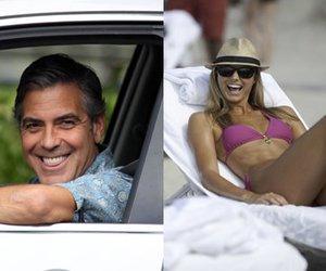 George Clooney im Liebesurlaub