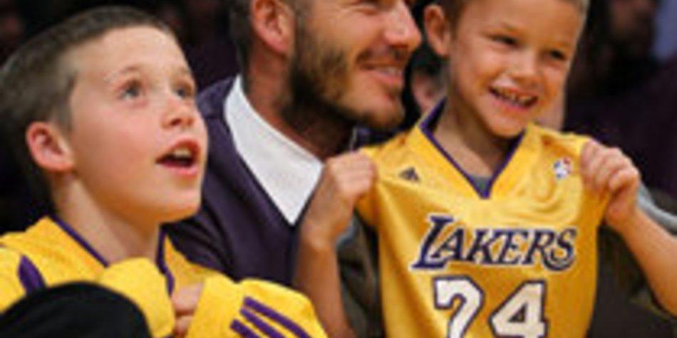 David Beckham: Sohn Romeo feierte seinen achten Geburtstag