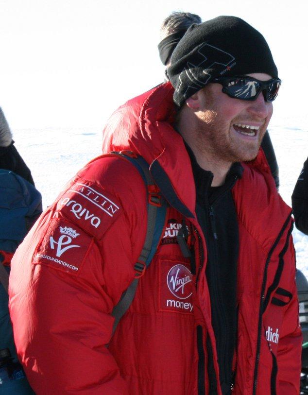 Prinz Harry am Südpol