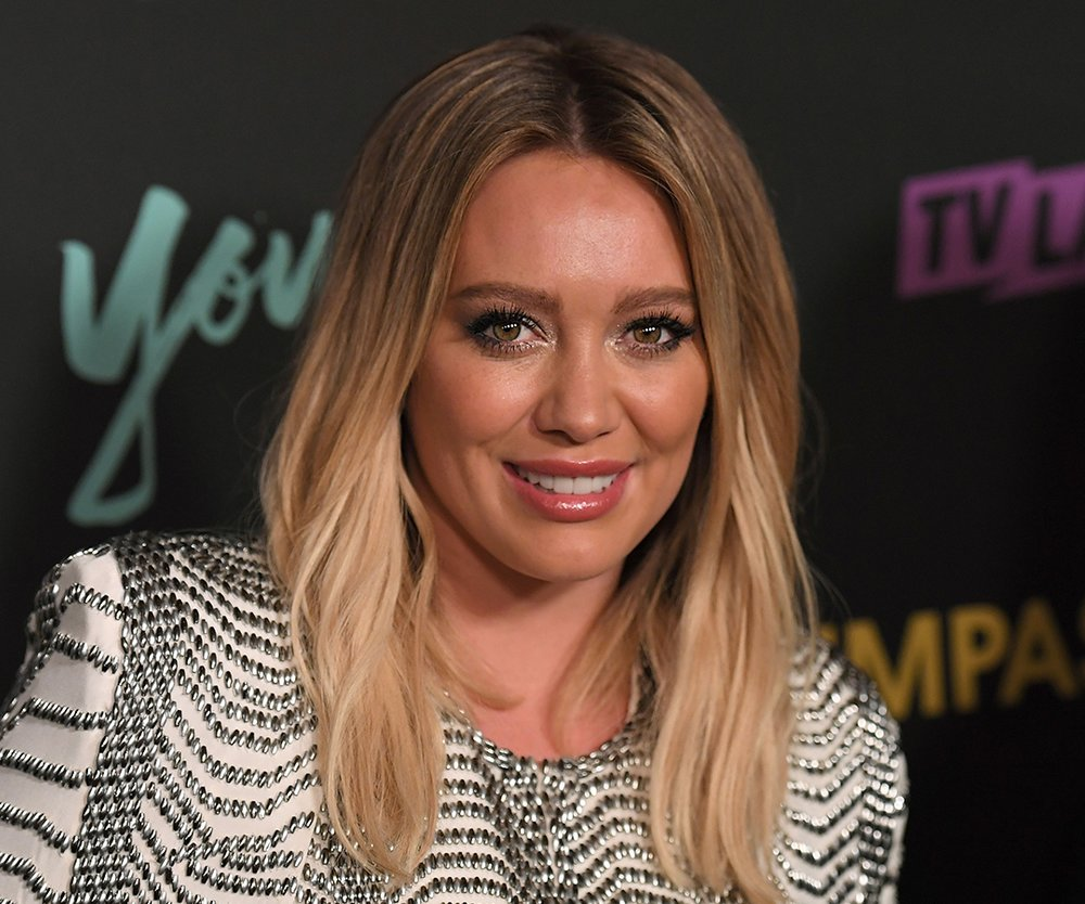161215_EL_HillaryDuff_ANGELA WEISS_AFP_GettyImages