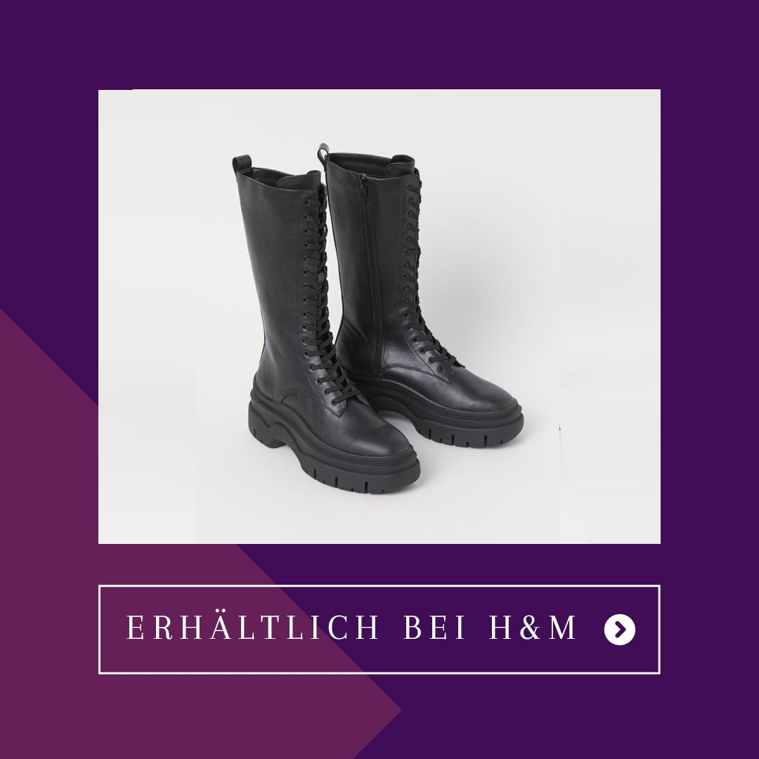 Herbst Capsule Wardrobe Chunky Boots