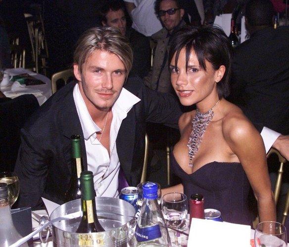 David Beckham auf der MOBO-Verleihung
