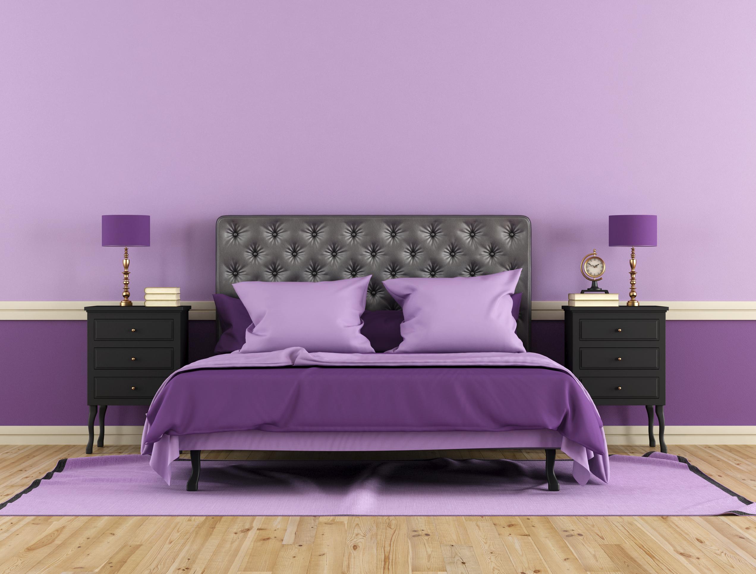 Die ideale Wandfarbe fürs Schlafzimmer   erdbeerlounge.de