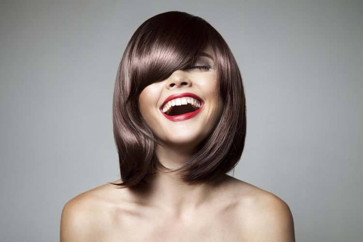 Sleek Bob mit geradem Pony