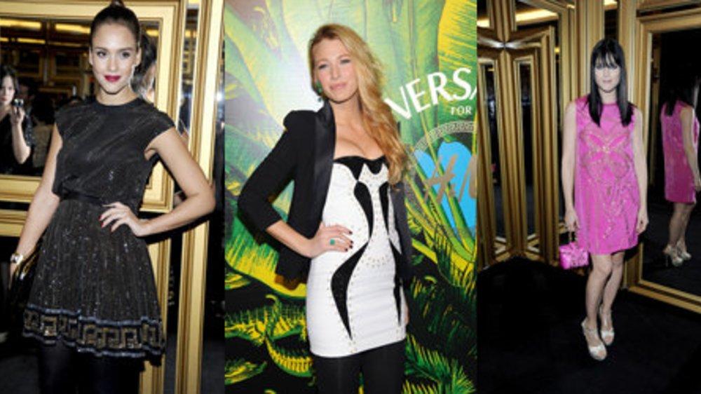 Versace for H&M – Event mit Starbesetzung