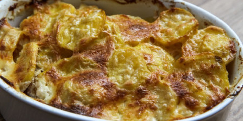 Kartoffelauflauf ohne Sahne