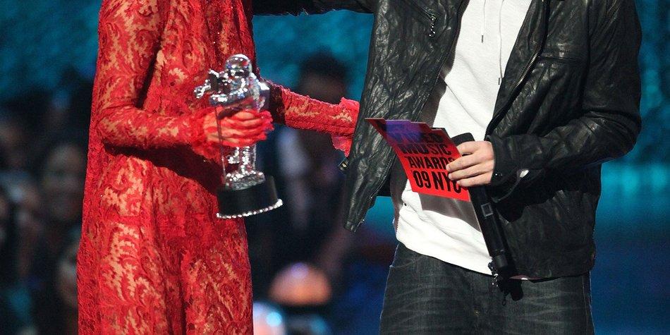 """Lady Gaga: Eminem nennt sie """"Male Lady"""""""
