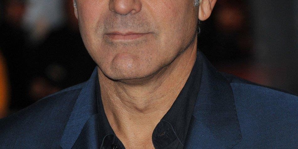George Clooney war ein Glückspilz