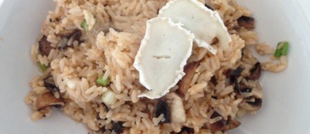 Leckere Reispfanne