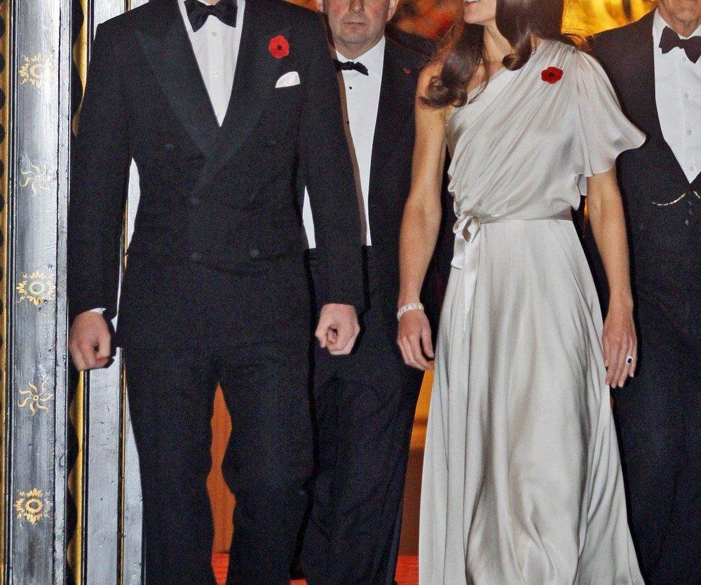 Prinz William und Herzogin Catherine als Gastgeber