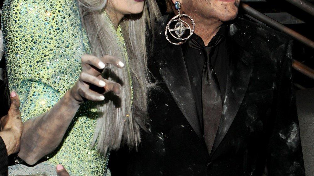 Lady Gaga wird Patentante von Elton Johns Kind