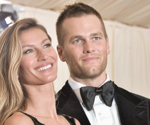"""Gisele Bndchen and Tom Brady attend the """"Charles James: Beyond Fashion"""" Costume Institute Gala at the Metropolitan Museum of Art on May 5, 2014 in New York City. (Photo by Andrew H. Walker/Getty Images)"""