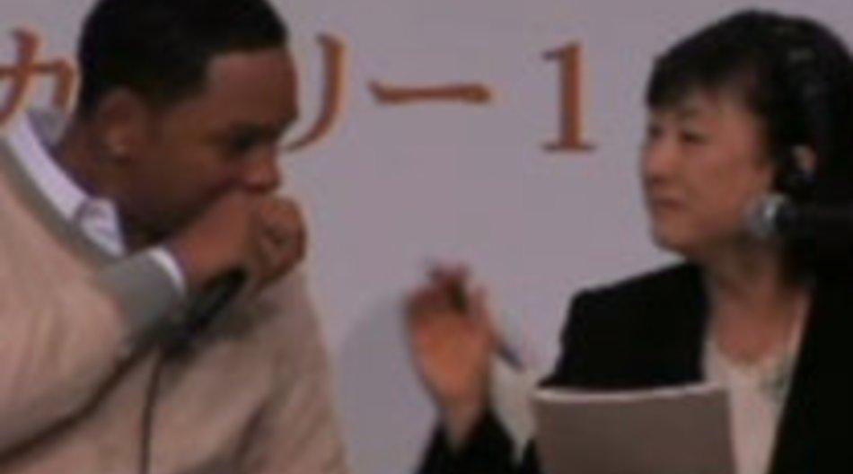 Spassvogel Will Smith treibt seine Späße in Japan