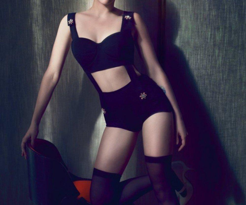 Scarlett Johansson als Covergirl