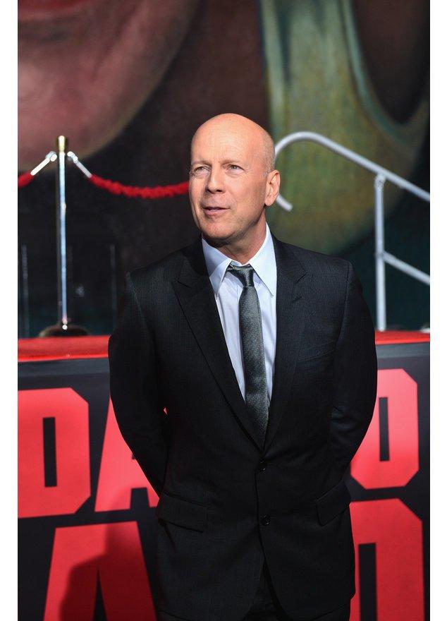 Bruce Willis promotet seinen neuesten Film
