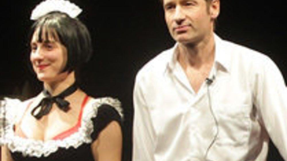 David Duchovny versagt bei Broadway-Stück!