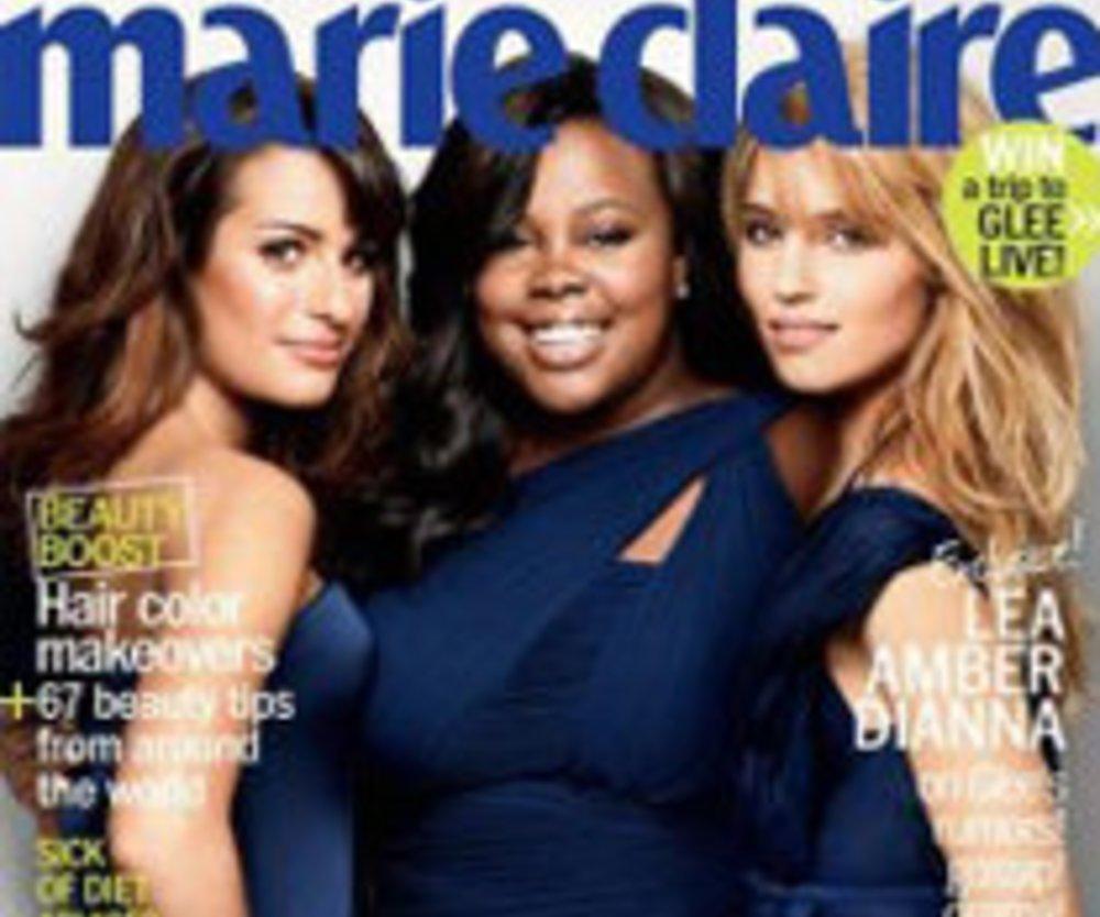 Glee: Frauen-Power in Marie Claire!