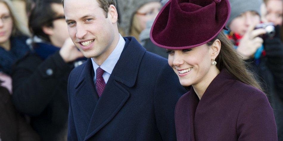 Prinz William und Kate Middleton: Silvester im Zelt