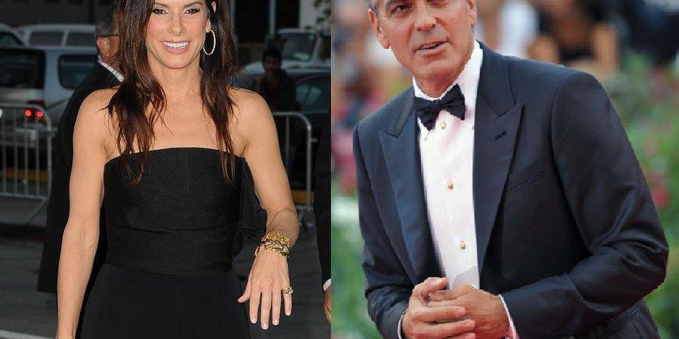 Sandra Bullock: Weltraum-Sex mit George Clooney!
