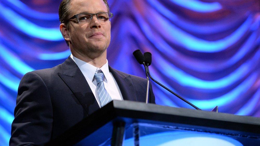 Matt Damon ist beim Radfahren gestürzt
