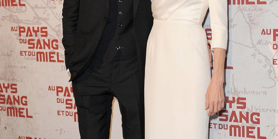 Angelina Jolie schickt Brad Pitt Curry von England nach Los Angeles