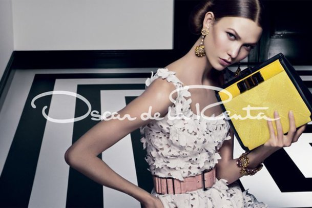 Oscar de la Renta-Kampagne mit Karlie Kloss