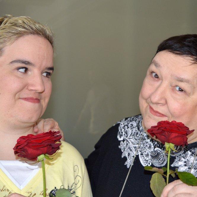 Beate (l.) und Irene
