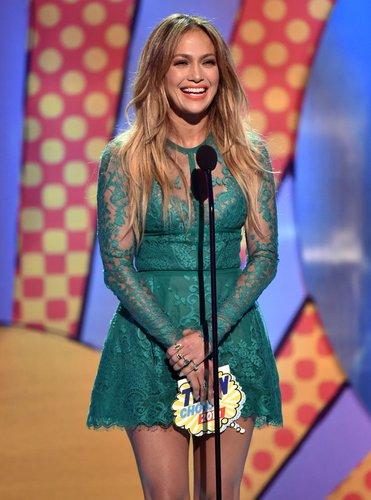 Jennifer Lopez im schicken Dress
