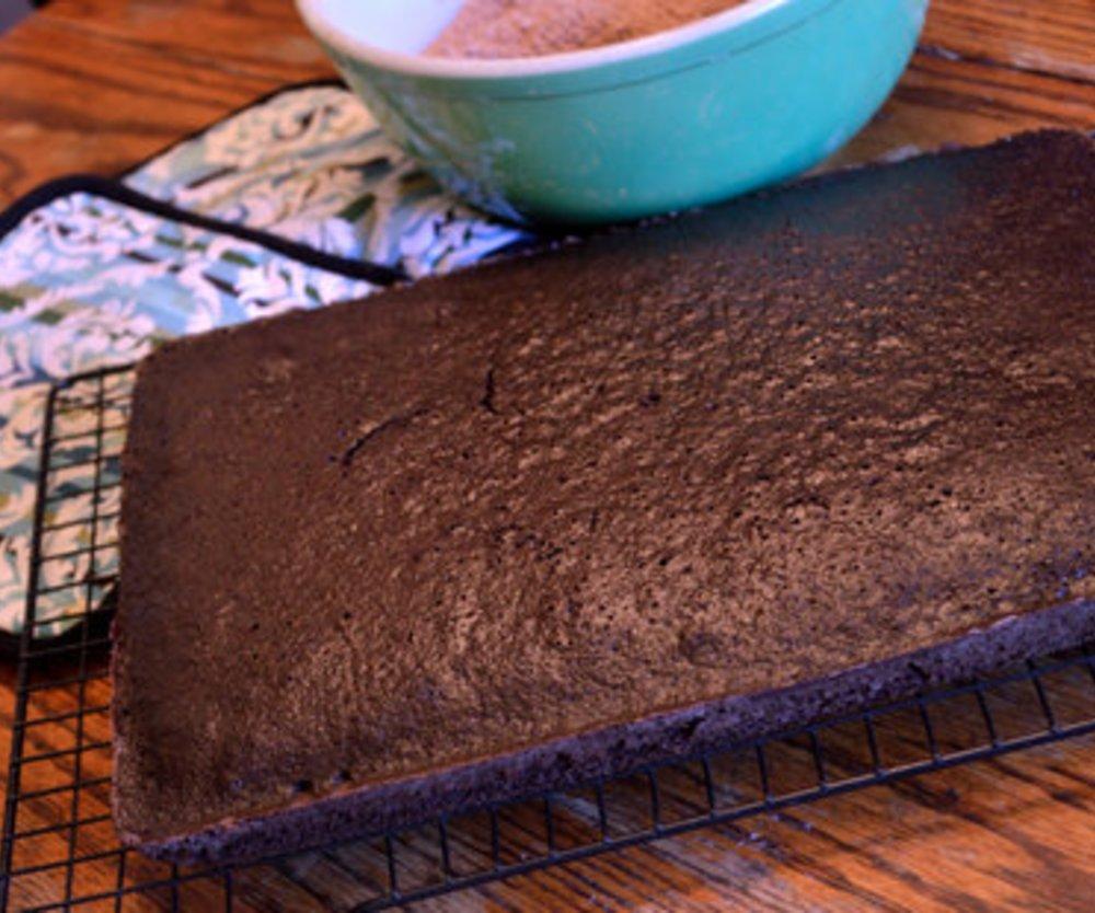 Schneller Blechkuchen