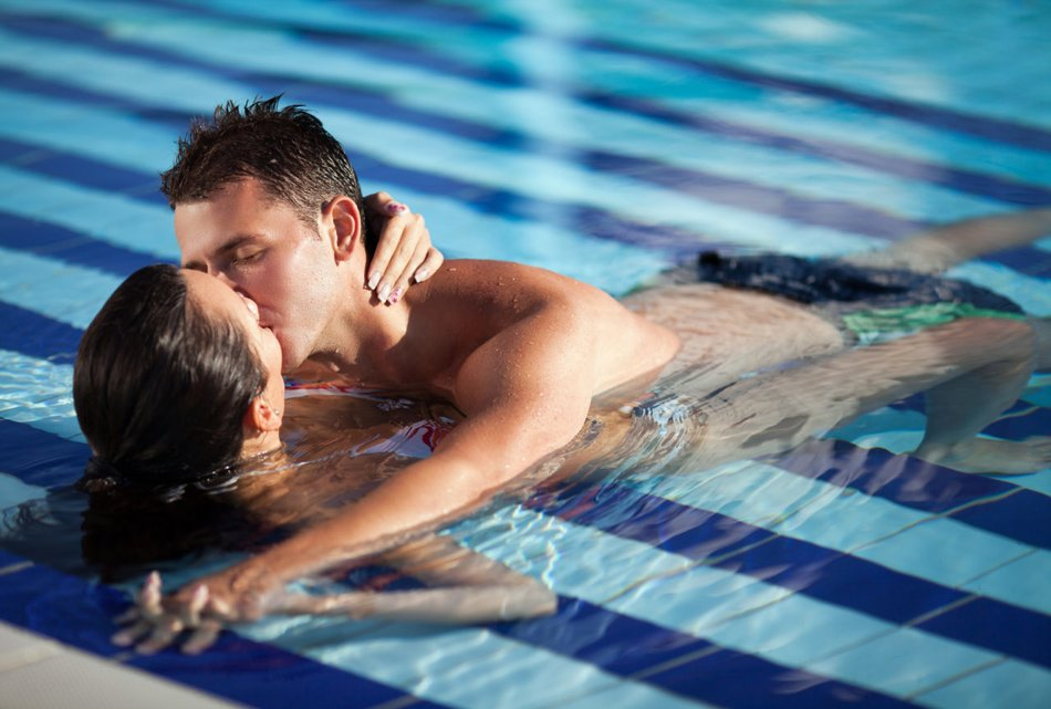 Sex in der Therme