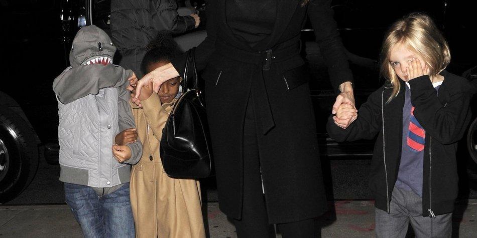 Angelina Jolie wie jede andere Mama
