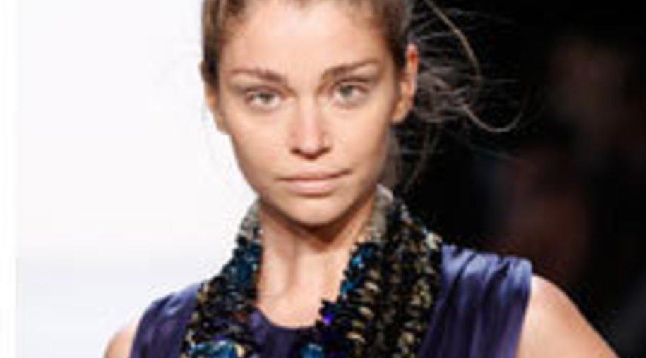 Marcel Ostertag brilliert auf der Fashion Week