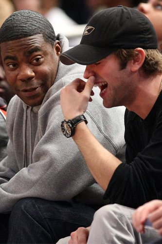 Chace Crawford: Knicks Spiel