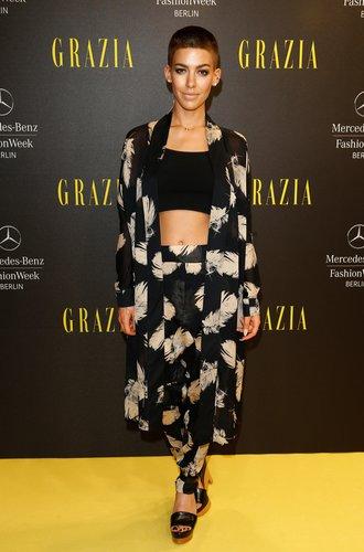 Alina Süggler bei der Berlin Fashion Week