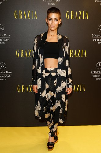 Alina Süggler bei der Berlin Fashion Week