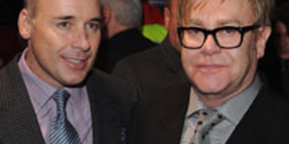 Elton John: Sein Sohn wird nicht verwöhnt!
