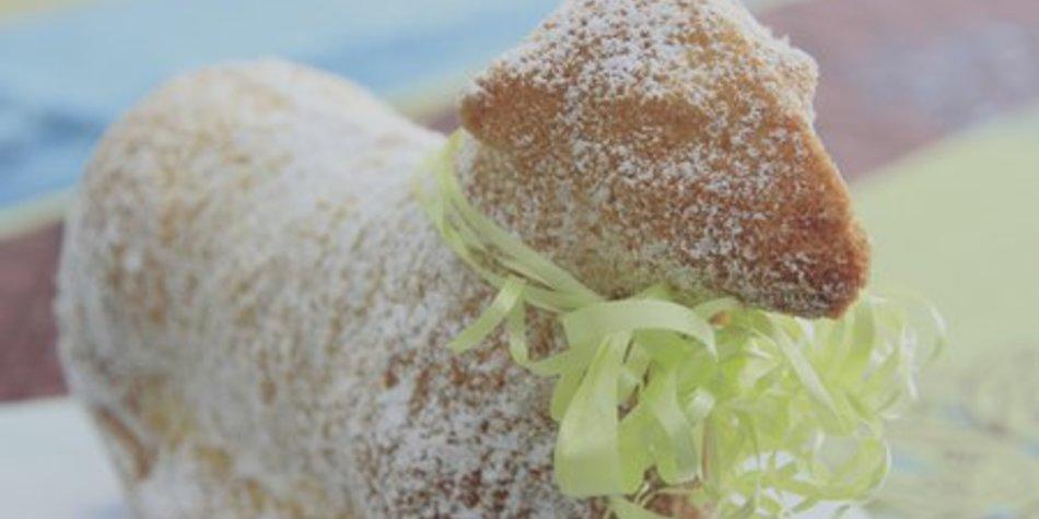 Osterlamm mit Vanille